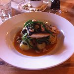 Wild trout with shrimps - Rafeal's @ The Goods Shed