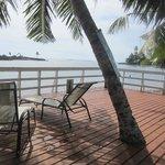 Overwater deck