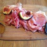 Prosciutto and Burnt Figs