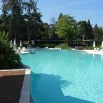 Pool with Oleander Restaurant