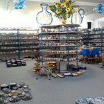 The Polish pottery shopping is great
