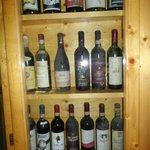 vino sposto nell museo
