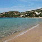 La spiaggia di Baja Sardinia