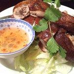 half roast duck $18 7/10