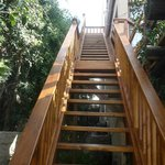 OUTSIDE STAIRS WORTH THE CLIMB TO SEA 4 EVER AND BIRD ROOM do have inside stairs