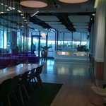 club lounge at Yotel