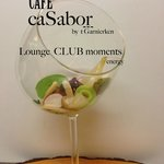 cafe Casabor is our lounge with our lounge music