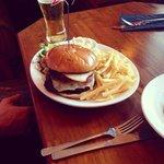 real steak burgers mmmmm.