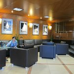 Waiting lounge at lobby