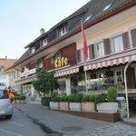 Cafe near hotel