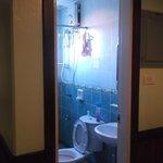 Room 404 bathroom