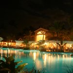 beautful pool area