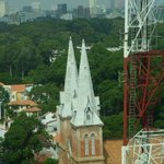View - Notre Dame to Reunification Palace