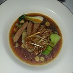 Duck breast consomè... just perfect