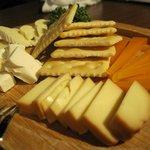 3種のチーズの盛り合わせ