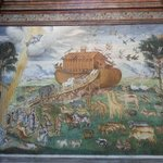 Noah's Ark painting - interesting for children.