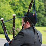 Piper for the wedding party