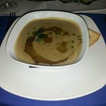 Garlic and Aubergine Soup