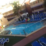 One of the pools x