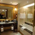 Banheiro do quarto executivo