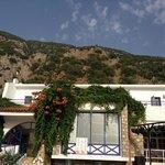 Blick vom Hotel in Richtung Babadag