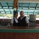 Dami and Alfredo (my family)