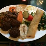 Delicious mixed plate €7