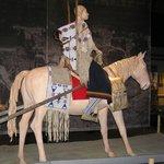 cavaliere con traino