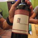 a red wine Cilligiolo Mavemma Bio.