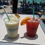 pool side drinks in our Cabana - doesnt get better than this!!
