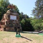 monument aan de ingang