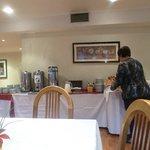 desayuno en comedor 2 do piso