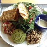 Happy Vegan Rabbit salad. Delicious!!!