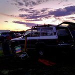 1988 Land Cruiser at a 1968 Drive-In