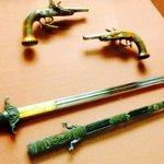 Napoleon's sword & pistols