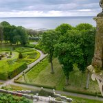 Photo of the gardens from the castle