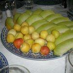 Dessert Platter - Melon & apricots