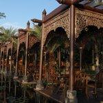 Al-fresco dining area