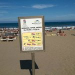 Playa del Ingles  sunbeds prices