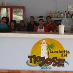 Staff from the Best Restaurant in Cozumel