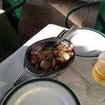 Amêijoas à Bolhão Pato na Cervejaria Pinóquio