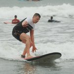 Surfing like a baws :D