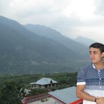 manali view from room's balcony