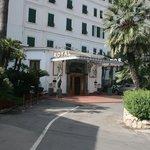 The Royal Hotel entrance