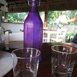 Wasser in der Flasche