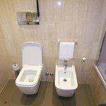 Rectangular toilet?