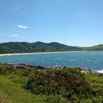Vista da baía da Paia da Silveira