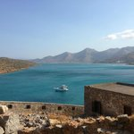 view from Spinalonga