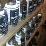 They have a lot of moonshine on the shelf