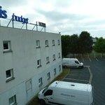 IBIS Budget (ETAP) Chateauroux Déols rear car park